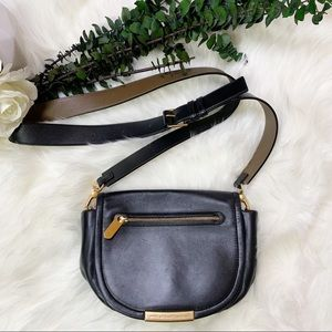 Marc Jacobs Black Luna Leather Crossbody